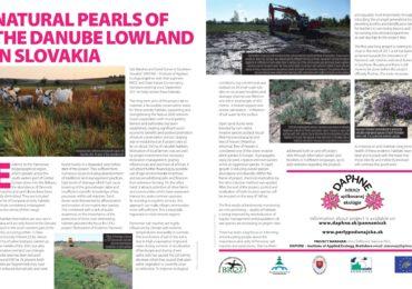 """Článok """"Prírodné perly Podunajska"""" v časopise """"The European Union Regional Review"""""""