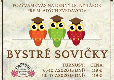 Letný tábor Bystré sovičky