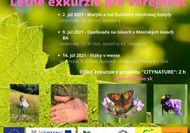 Verejnosť môže spoznať na exkurziách opeľovače a vtáky Bratislavy